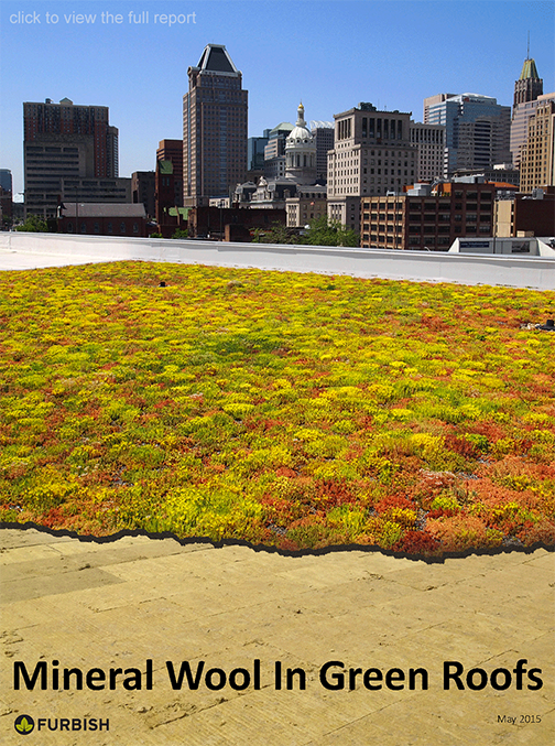 Mineral Wool in Green Roofs