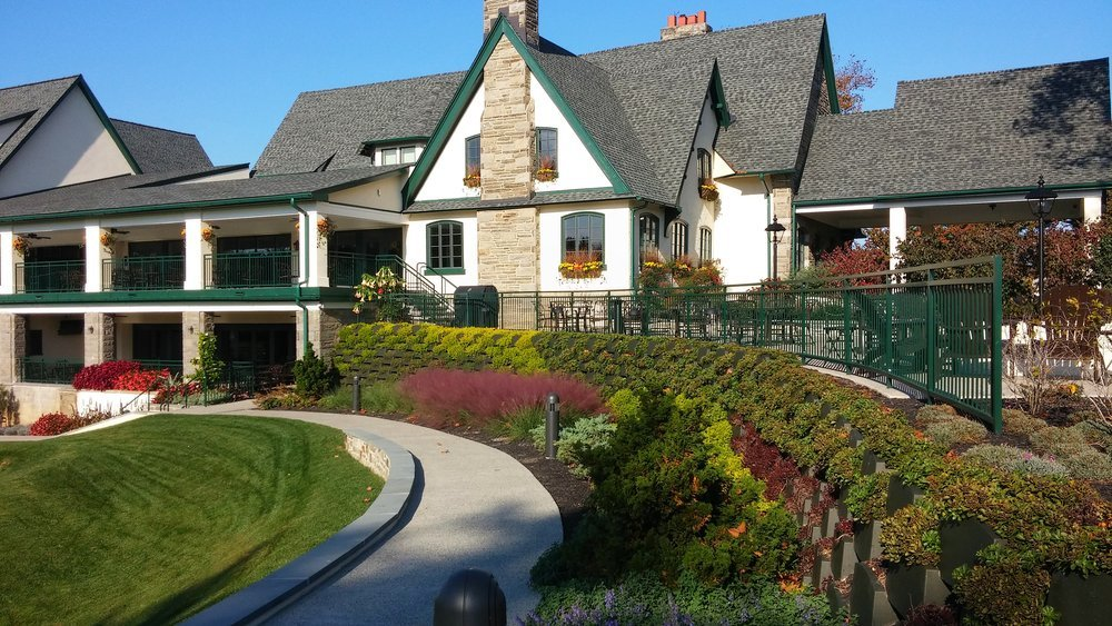 Llanerch Country Club - green roof